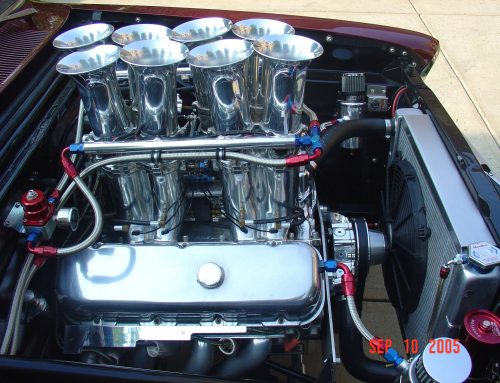 Kinsler big block Chevrolet injection on Chevy II