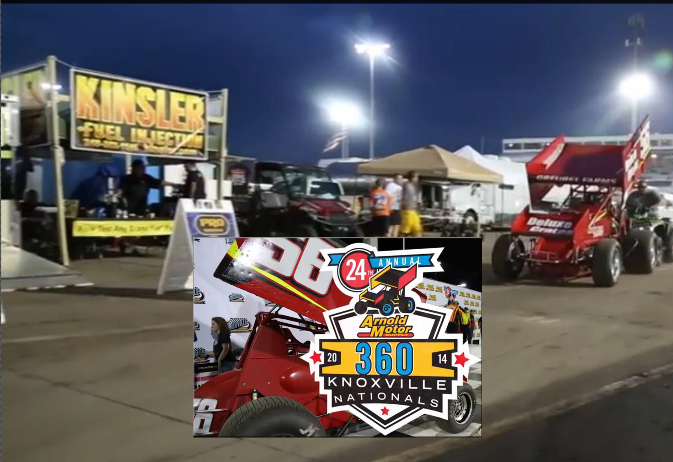 """55th Annual FVP Knoxville Nationals """"Pre Race\"""