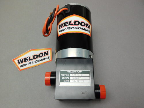 -12 Inlet and -10 Outlet Weldon Racing 2345-A Flow Fuel Pump