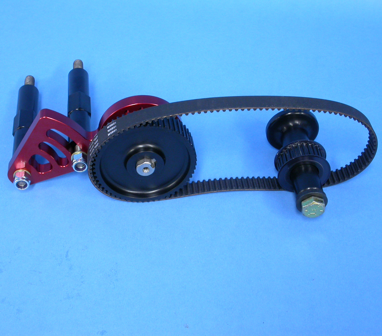 Waterman Sbc Belt Drive Fuel Pump Kit W Kinsler Brackets