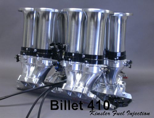 "KINSLER BILLET ""410"" INTAKE MANIFOLD FOR SMALL BLOCK CHEV,  FORD,  ETC."