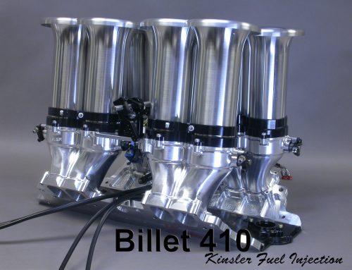 "KINSLER BILLET ""410"" INTAKE MANIFOLD FOR SMALL BLOCK CHEV,  FORD,  ETC."