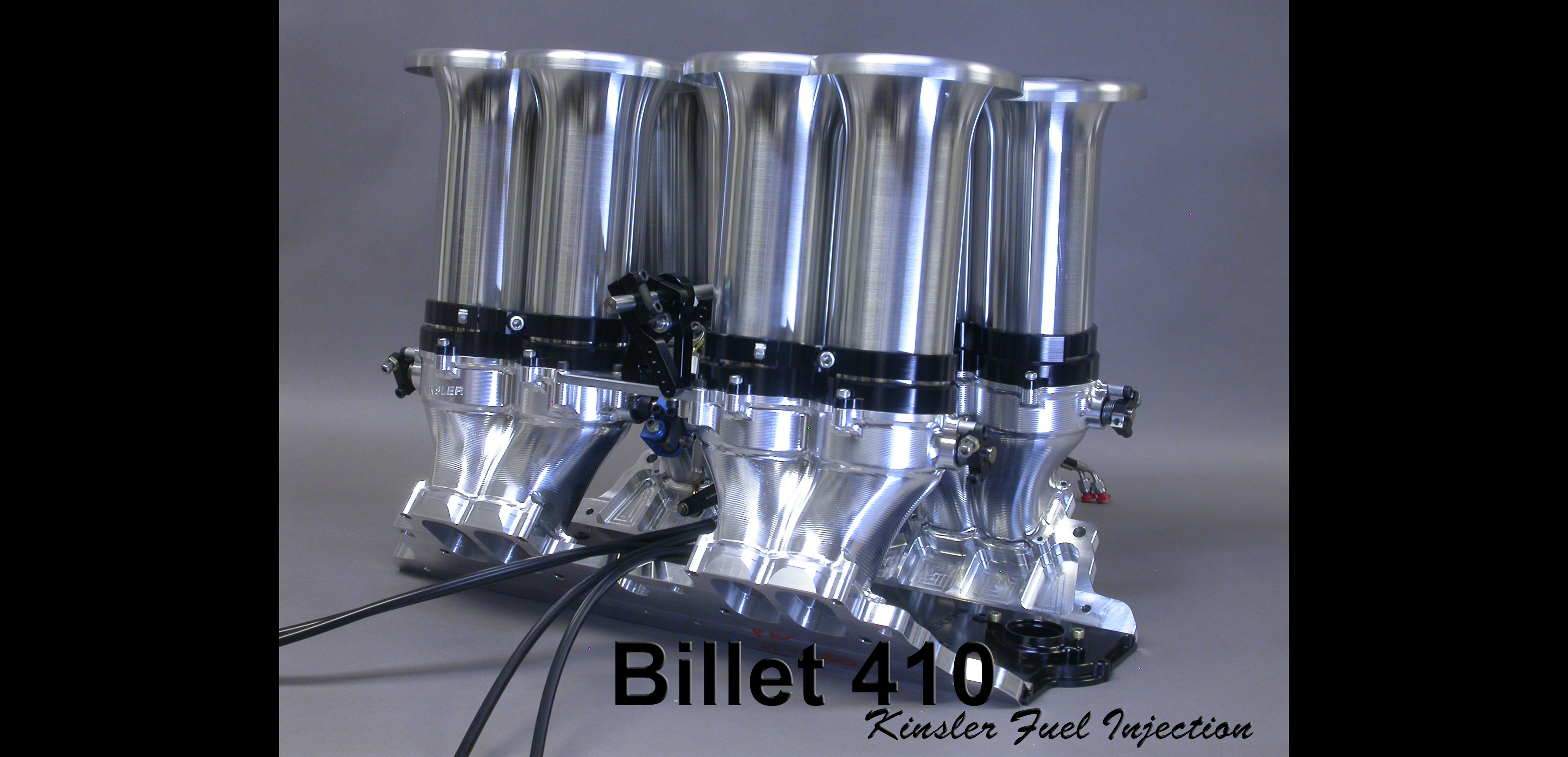 Kinsler Fuel Injection Manufacturing Sales And Service Pontiac Pressure Diagram Billet 410 Intake Manifold For Small Block Chev Ford Etc