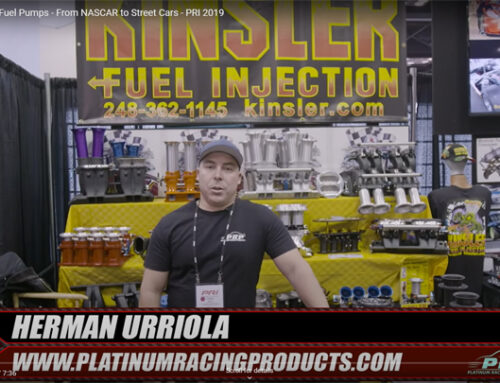Interview with Kinsler at 2019 PRI Trade Show
