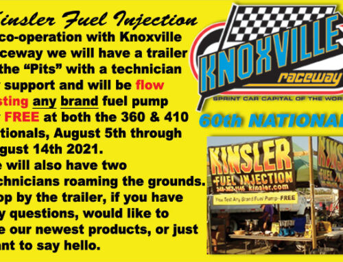 See Us at the Knoxville 360 & 410 Nationals